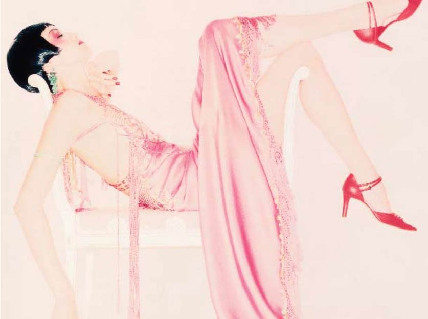 Novel Makeover for Fashion Magazine